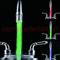 Lampara Para Lavavo Deled Con Sensor Temperatura Grifo Vbf