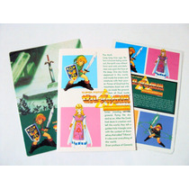 2 Mini Juegos De Mesa De Zelda A Link To The Past + Libreta