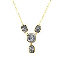 Swarovski Elements Collar Rectangulos Crystal Cal V Si Gma