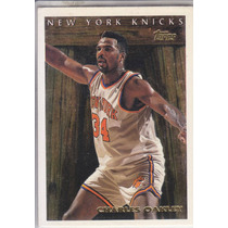 1995-96 Topps Pan For Gold Charles Oakley Knicks