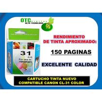 Cartucho Tinta Nuevo Compatible Canon Cl-31 Color Op4