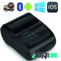 Impresora Ticket Bluetooth Android Ios Portatil Envio Gratis