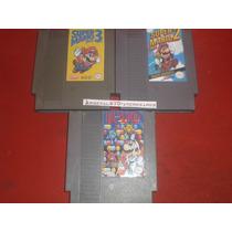 Nintendo Super Mario Bros 2 Y 3 + Dr Mario Nes