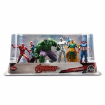 Increible Play Set The Avengers -vengadores- Disney Store