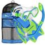 U.s Divers Kit Snorkeo Aletas+snorkel+visores Para Jovenes