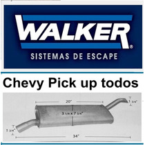 Silenciador Chevy Pick Up Todos Walker Sound Fx # 10066