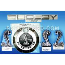 Mustang 2005-2009, Kit De Emblemas Originales Shelby Cobra!!