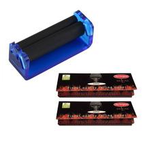 Roladora + 2 X Papel Arroz Paquete Para Rolar Tabaco