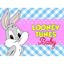 Kit Imprimible Los Pequeños Looney Tunes, Invitaciones