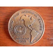 Medalla De Bronce 3eros Juegos Panamericanos Chicago 1859