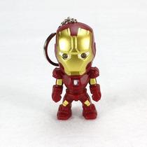 Mini Iron Man Llavero Luz+sonido