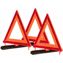 Blazer 7500 Triángulos De Señalización Plegables Paquete De