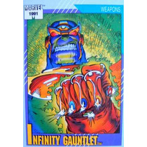 Thanos Guante Infinito / Marvel 91 Comics Cards 134