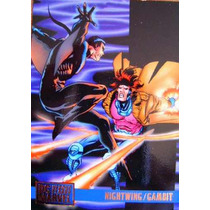 Nightwing Vs Gambit / Dc Vs Marvel Comics Cards 60
