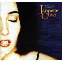 Cd Primer Edición De Jannette Chao: Batallas De Sal