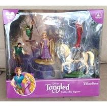 Parque Disney Tangled Rapunzel Figurita Playset Set De Juego