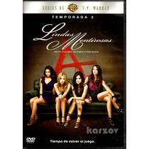 Lindas Mentirosas Temporada 3 Tres, Pretty Little Liars, Dvd