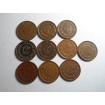 1 Centavo Estados Unidos Mex. De 1939 A 1949 (lote 10 Pz.)