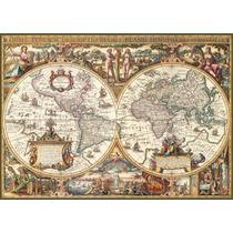 Rompecabezas Ravensburger 1000 Piezas Mapa Antiguo 19004