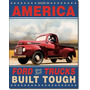 Poster Lamina Anuncio Vintage Retro Ford Trucks Built Tough