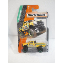 Matchbox On A Mission Camioneta Chevy K1500 Amarillo 88/120
