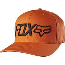 Gorra Fox Bringer Naranja Flexfit L/xl Motocross Mtb