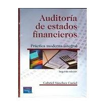Auditoria De Estados Financieros Autor Curiel