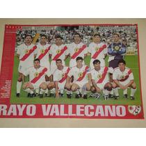 Poster Rayo Vallecano De España Año 2000 Don Balon