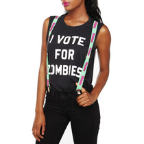 Hot Topic Tirantes Cerebros Brains Suspenders