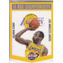 2013 Past & Present Championship Banner James Worthy Lakers