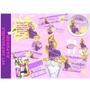 Kit Imprimible Rapunzel De Enredados Morado Tarjetas Cumplea