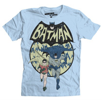 Playera Batman Y Robin De Mascara De Latex