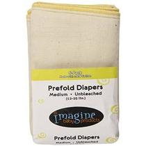 Imagínese Bebé Productos Inteligentes Fit Prefold Pañales, S