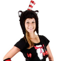 Gorro De Cat In The Hat, Gato Ensombrerado Para Adultos