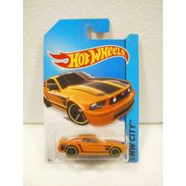Hot Wheels Ford Mustang Gt Naranja 92/250 2015