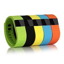 Brazalete Inteligente Pulsera Reloj Fitness Podometro Health
