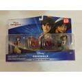 Set Figuras Disney Infinity Aladdin & Jazmin Toy Box Pack