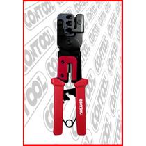 Pinza Telefonica Ponchadora Rj-9, Rj-11 Y Rj-45 Contool