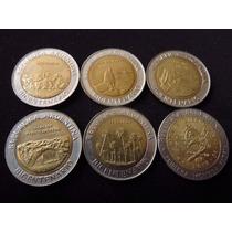 Moneda Bimetalica Argentina Set De 6 Monedas Bicentenario