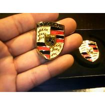 Porsche Emblemas Porsche La Mas Fina Calidad Cromo Gold