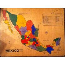 Rompecabezas De Mexico La Mejor Forma De Aprender!