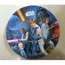 Fiesta Star Wars Darh Vader Plato Melamina Como Recuerdo