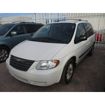 Chrysler Voyager Lx, Aut, 4 Vel, Color Blanco, Modelo 2006