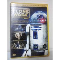 Star Wars The Clone Wars Temp. 1 Vol. 2 Dvd Original