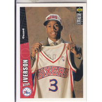 1996-97 Collectors Choice Rookie Allen Iverson Sixers