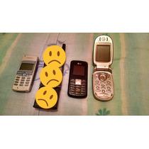 Celular Antiguo Vintage Para Refacciones Nokia, Motorola