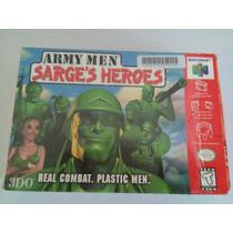 Army Men Sarges Heroes Nintendo 64 N64 Completo