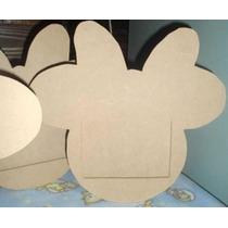 Portaretratos Caritas De Minnie Mouse Para Pintar Madera