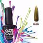 Esmalte Gel Uñas Tipo Gelish Gloss Over Color Oro Magic 15ml