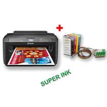 Impresora Epson Wf 7110 Tabloide Y Sist Cont Con Sublimación